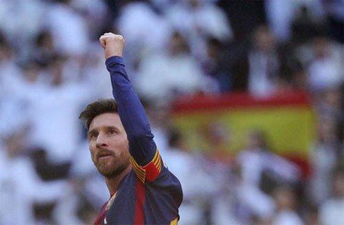 Bao than Real goi Messi la 'Vua cua El Clasico' hinh anh 1