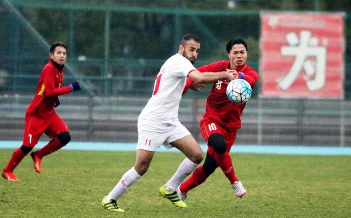U23 Viet Nam lo cau thu bi loai sau tran hoa U23 Palestine? hinh anh 1
