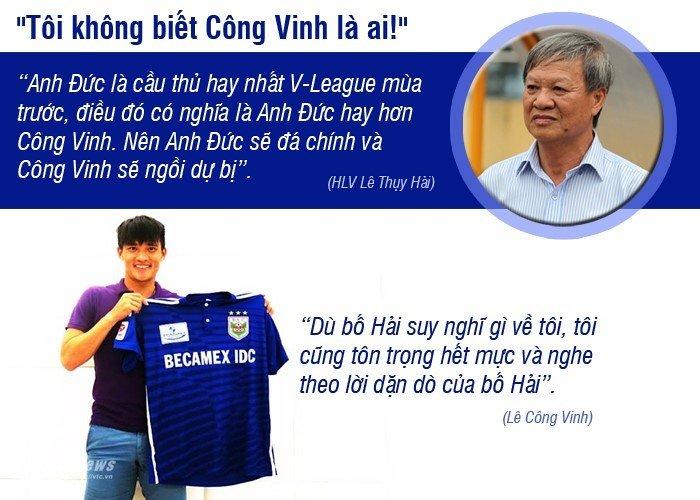 HLV Le Thuy Hai tung 'dan mat' Cong Vinh, che toi ta HLV Miura the nao? hinh anh 2