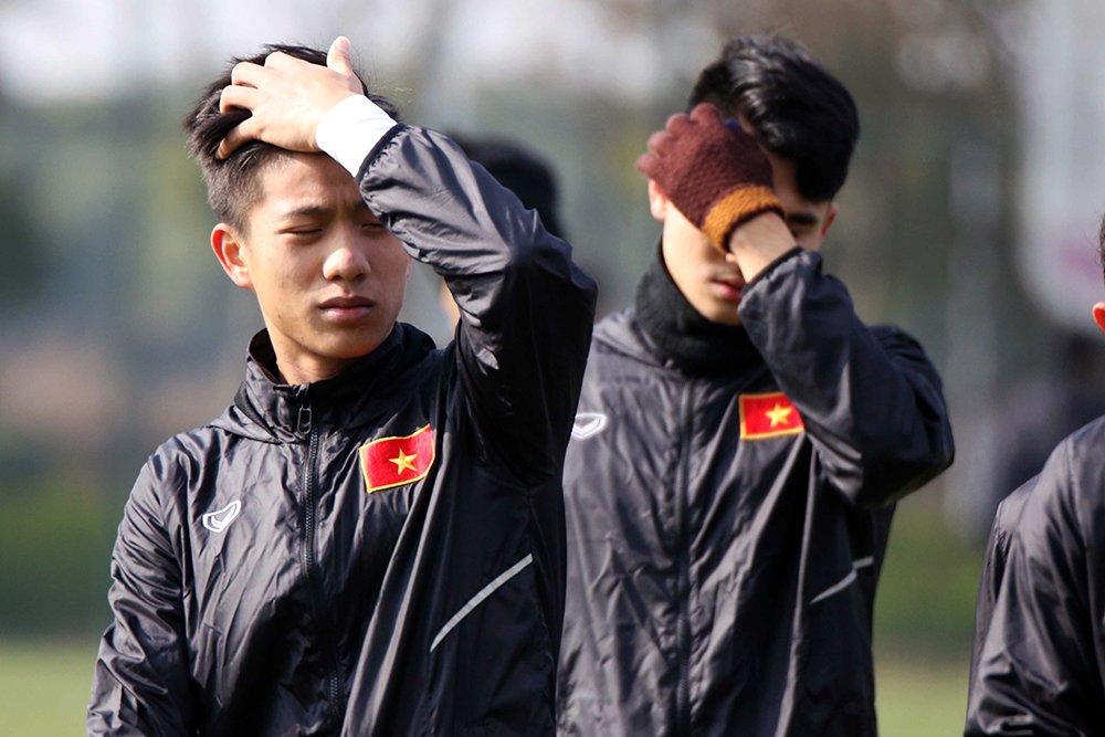 Tuyen thu U23 Viet Nam choi mat sau nhieu ngay khong thay mat troi hinh anh 1
