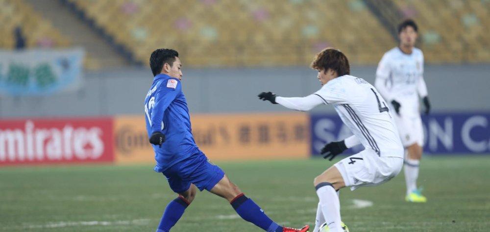 Thua sat nut U23 Nhat Ban phut cuoi, U23 Thai Lan bi loai hinh anh 1