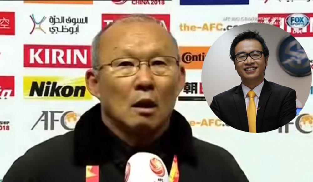 BLV Ta Bien Cuong goi HLV Park Hang Seo la 'Guus Hiddink Viet Nam' hinh anh 1