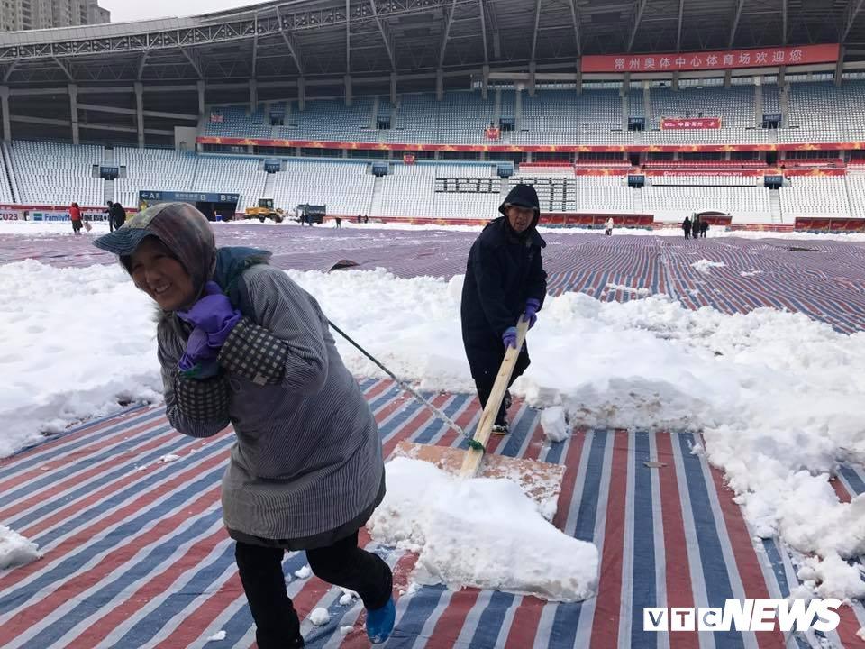 Trung Quoc dieu may xuc don tuyet, quyet khong hoan tran U23 Viet Nam vs U23 Uzbekistan hinh anh 1