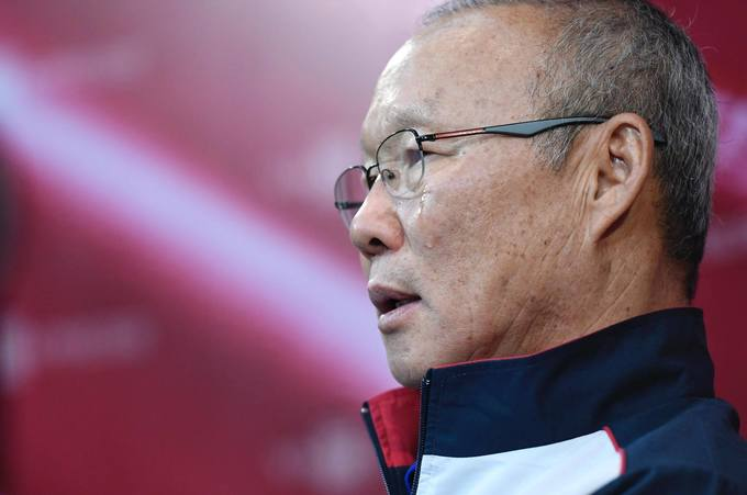 HLV Park Hang Seo roi nuoc mat noi ve nhung dua con U23 Viet Nam hinh anh 1
