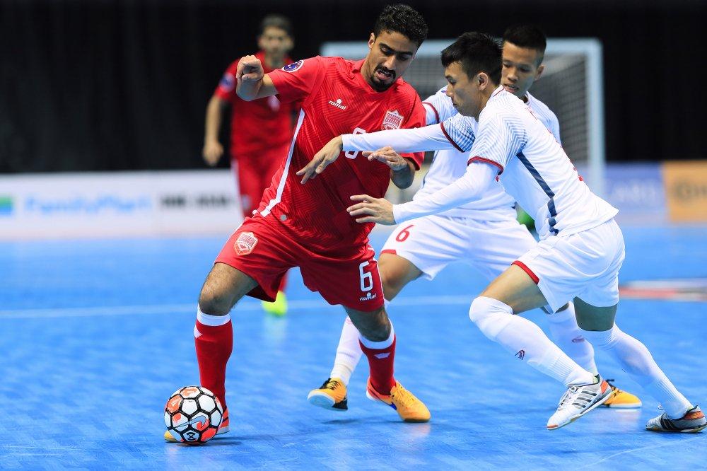 Truc tiep bong da Viet Nam vs Dai Loan, VCK Futsal chau A 2018 hinh anh 1