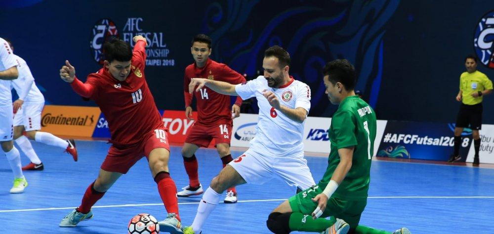 Futsal Thai Lan thua soc, Viet Nam coi chung bi loai hinh anh 1