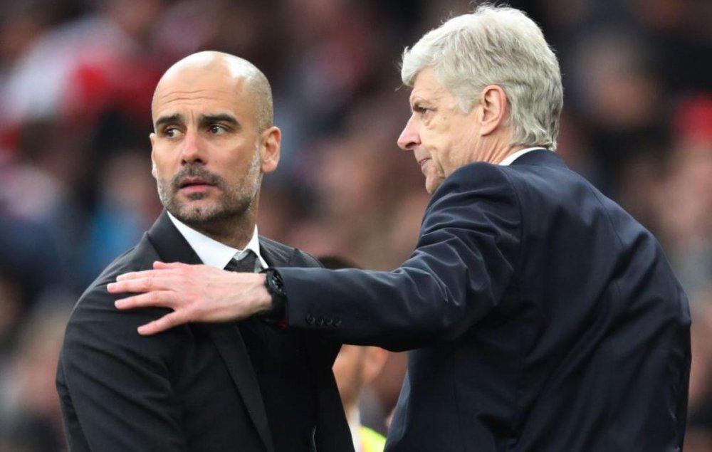 Guardiola - Wenger: Nguoi duong thoi gap ke lac hau hinh anh 1
