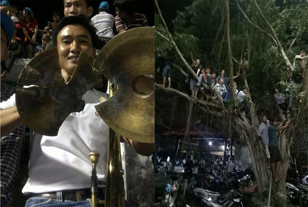 Anh: Vo san Binh Phuoc trong ngay quan bau Duc toi giao dau hinh anh 5