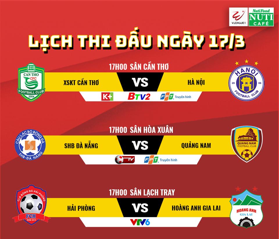 Video truc tiep SHB Da Nang vs Quang Nam vong 2 V-League 2018 hinh anh 1