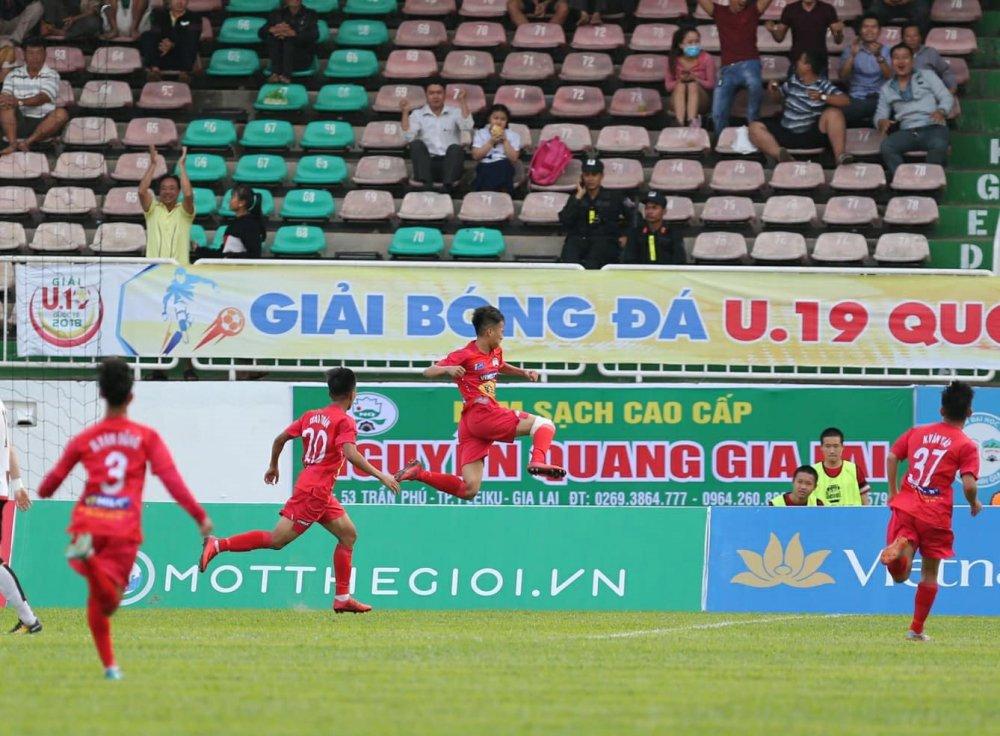 Bau Duc 'ngu dai', U19 HAGL JMG van thua doi thu Han Quoc hinh anh 1