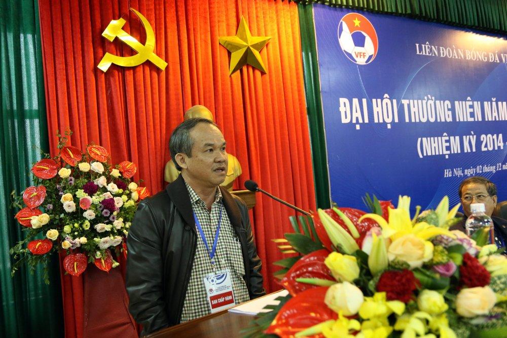 BLV Quang Huy: 'Thoi diem nay, ong Nguyen Cong Khe lam Chu tich VFF la tot hon ca' hinh anh 1
