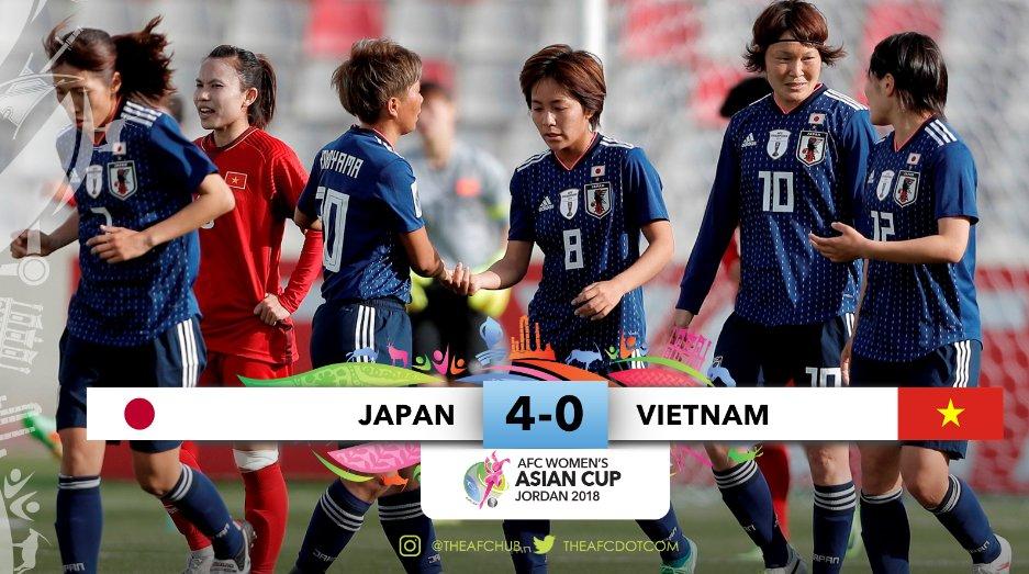 Ket qua bong da nu Viet Nam vs Nhat Ban VCK Asian Cup nu 2018, 20h45 7/4 hinh anh 1