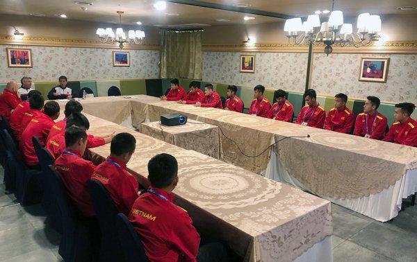 U19 Viet Nam len ke hoach nghenh chien U19 Mexico hinh anh 1