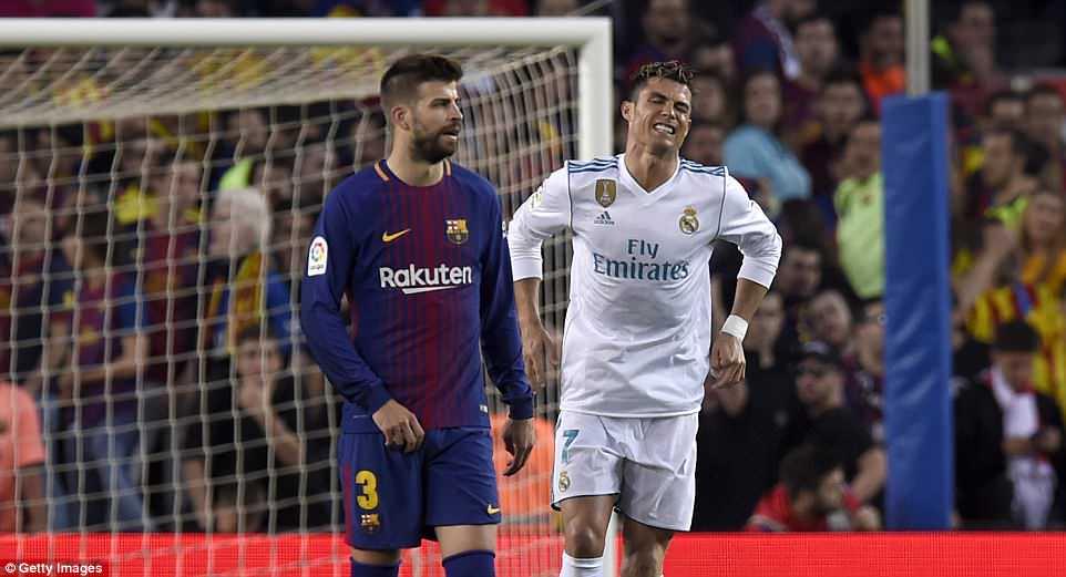 Chan thuong o Sieu kinh dien, Ronaldo khong lo lo hen chung ket Cup C1 hinh anh 2