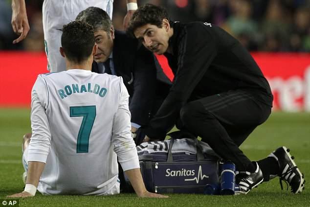 Chan thuong o Sieu kinh dien, Ronaldo khong lo lo hen chung ket Cup C1 hinh anh 3