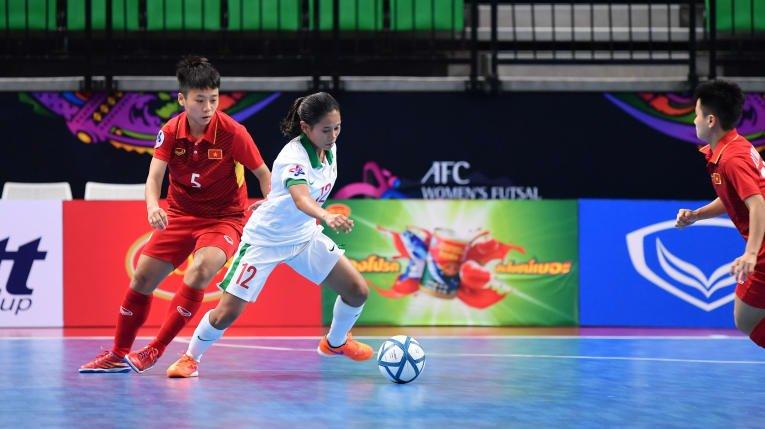 Ha Indonesia, tuyen Futsal nu Viet Nam vao ban ket chau A hinh anh 3