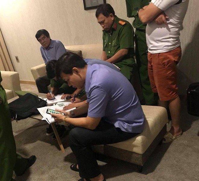 Han chot giai trinh 'nghi an khach san' cua Pho Chu tich VFF Nguyen Xuan Gu hinh anh 1