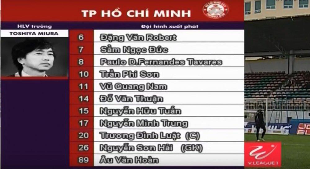 Video ket qua HAGL vs TP.HCM vong 11 V-League 2018 hinh anh 1