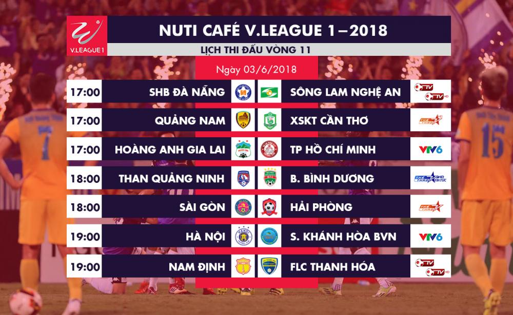 Video truc tiep Nam Dinh vs FLC Thanh Hoa vong 11 V-League 2018 hinh anh 1
