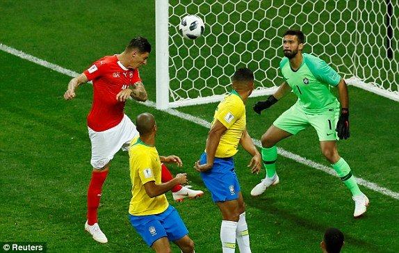 Video ket qua Brazil vs Thuy Si 1-1: Neymar tit ngoi, Brazil vo mong hinh anh 1