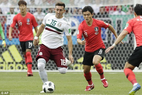 Video ket qua Mexico vs Han Quoc bang F World Cup 2018 hinh anh 10