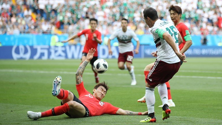 Video ket qua Mexico vs Han Quoc bang F World Cup 2018 hinh anh 8