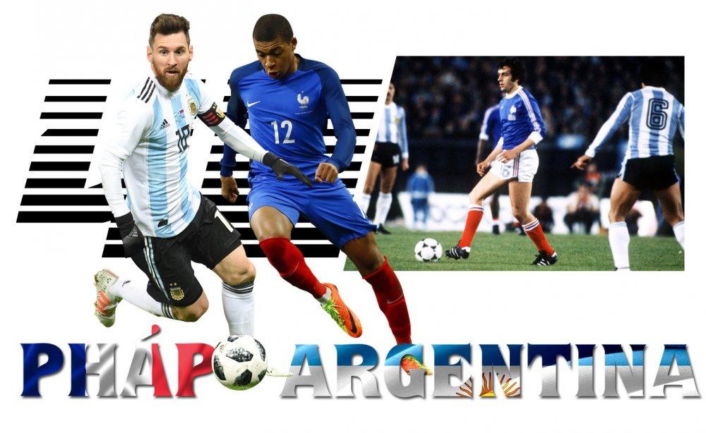 Phap vs Argentina: Tran chien 40 nam va Messi vao chung ket? hinh anh 1