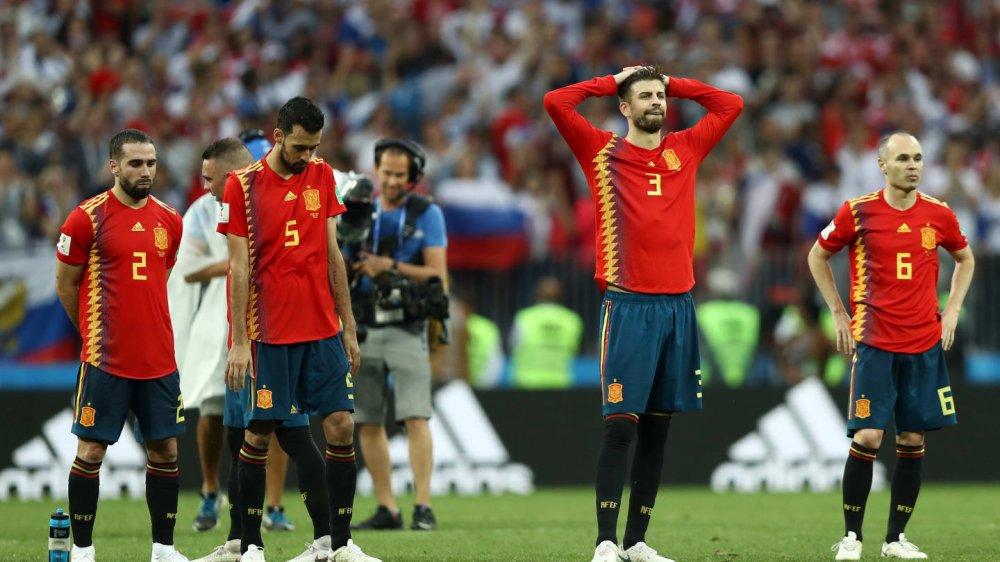 Hình ảnh: Tây Ban Nha không vượt qua lời nguyền chủ nhà số 2
