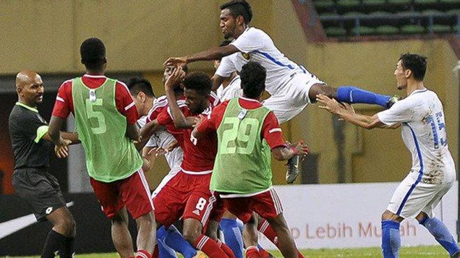UAE gui loi xin loi sau vu hon chien voi Malaysia truoc them ASIAD hinh anh 1