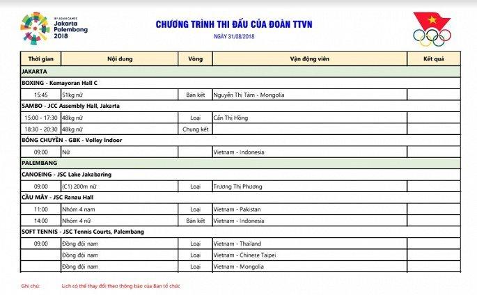 Truc tiep ASIAD 2018 ngay 31/8: Tuyen cau may nu vao chung ket dau Thai Lan hinh anh 6