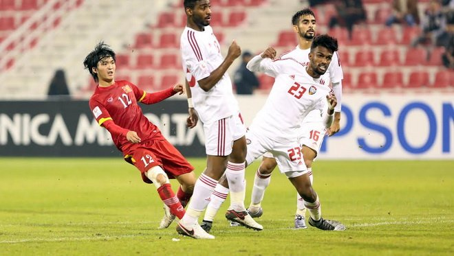 Lich su doi dau UAE chong lai Olympic Viet Nam hinh anh 2