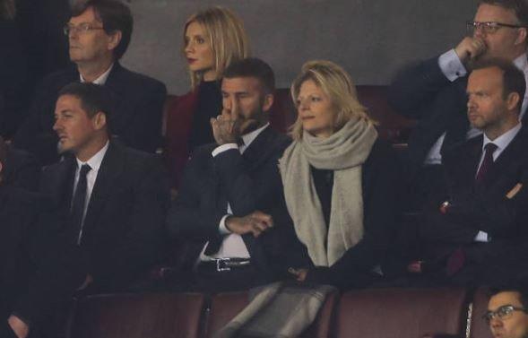 Roi le ra mat VinFast, Beckham ve Old Trafford xem MU thi dau hinh anh 7