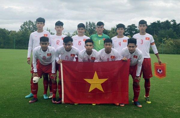 Thua luan luu U17 Thai Lan, U17 Viet Nam xep hang Tu tai Jenesys 2018 hinh anh 1