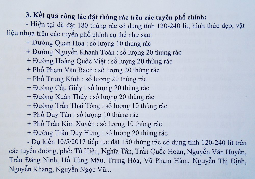 'Tuyet khong thay thung rac tren via he Ha Noi la do...dan an cap' hinh anh 2