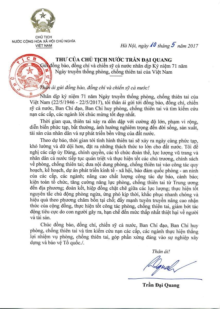 Chu tich nuoc: 'Thien tai se ngay cang phuc tap, kho luong va du doi hon' hinh anh 2
