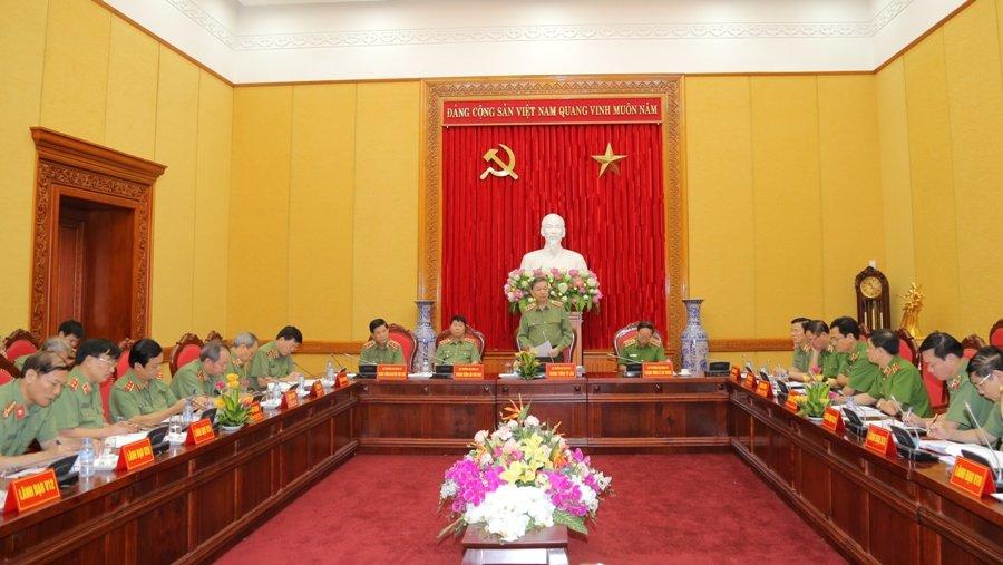 Bo Cong an triet pha 123 bang nhom toi pham nguy hiem trong thang 5 hinh anh 1