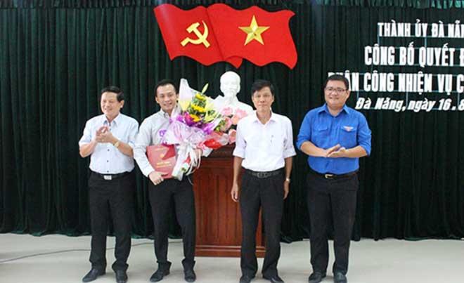 Da Nang luan chuyen nhieu can bo o Van phong Thanh uy hinh anh 1