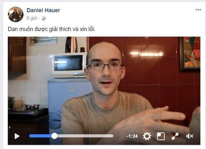Giao vien tieng Anh xuc pham Dai tuong Vo Nguyen Giap: Daniel Hauer khong du tu cach day hoc o Viet Nam hinh anh 1