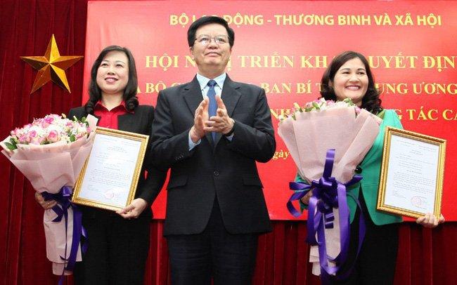 Pho Bi thu Bac Ninh giu chuc Thu truong Bo Lao dong, Thuong binh va Xa hoi hinh anh 1