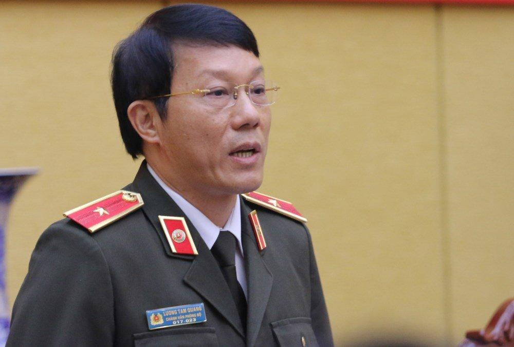 Bo Cong an se khong con cap tong cuc: Thieu tuong Luong Tam Quang noi gi? hinh anh 1