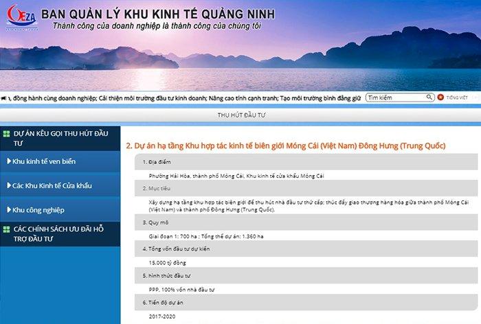 Quang Ninh de xuat som thong qua luat dac khu va day ket noi kinh te voi Trung Quoc hinh anh 1