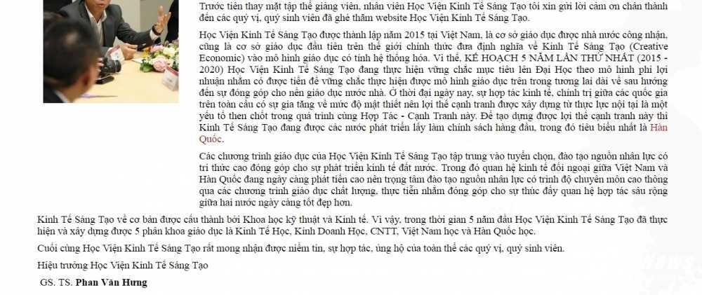 Hieu truong chui hoc vien tuc tiu: Che bien 'Hoc vien', chua bo hoc ham tren website hinh anh 2