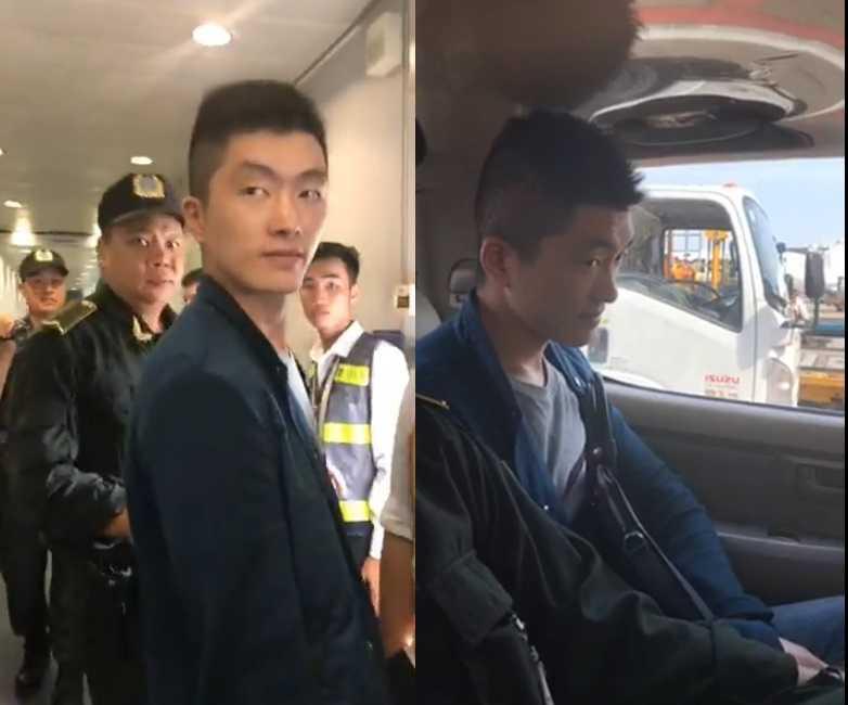 Bat qua tang nguoi dan ong Trung Quoc trom tien tren may bay cua Vietnam Airlines hinh anh 1