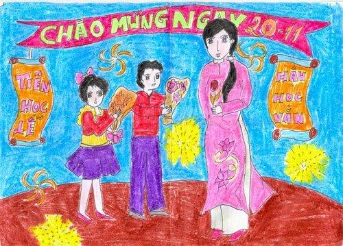 Nhung loi chuc ngay Nha giao Viet Nam 20/11 bang tieng Anh hay nhat danh tang thay co hinh anh 2