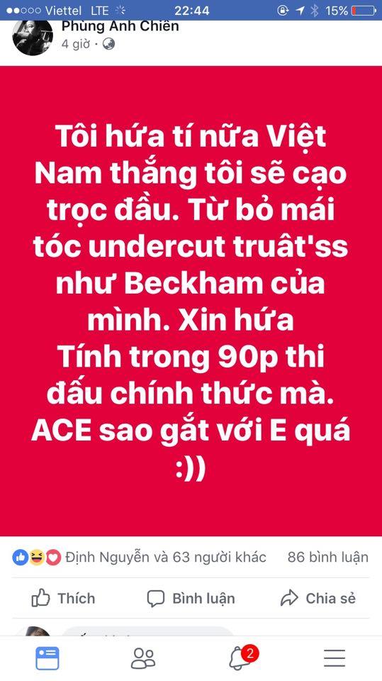 Cu dan mang cuòng nhiẹt chúc mùng chien thang cua U23 Viẹt Nam hinh anh 8