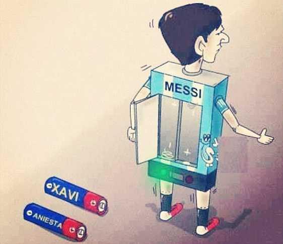 Messi thi hon gi Ronaldo? hinh anh 2
