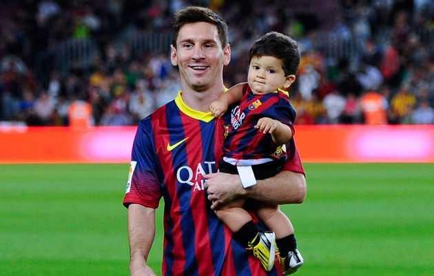 Messi khong the truyen cam hung cho con trai hinh anh 1