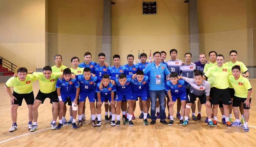 Tuyen Futsal Viet Nam 'on bai' truoc tran gap Paraguay hinh anh 3
