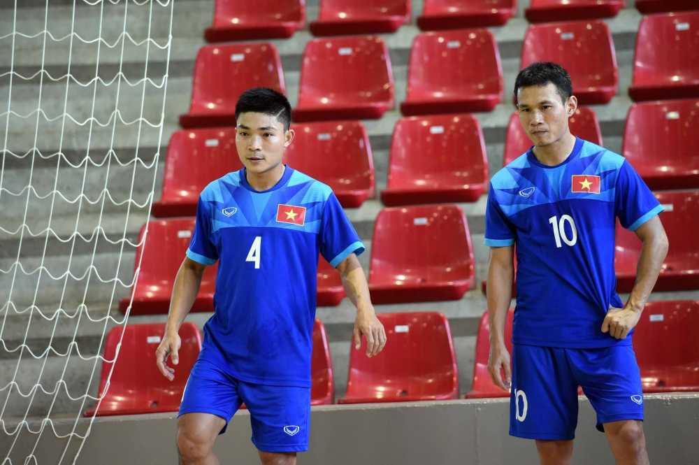 Tuyen Futsal Viet Nam 'on bai' truoc tran gap Paraguay hinh anh 2
