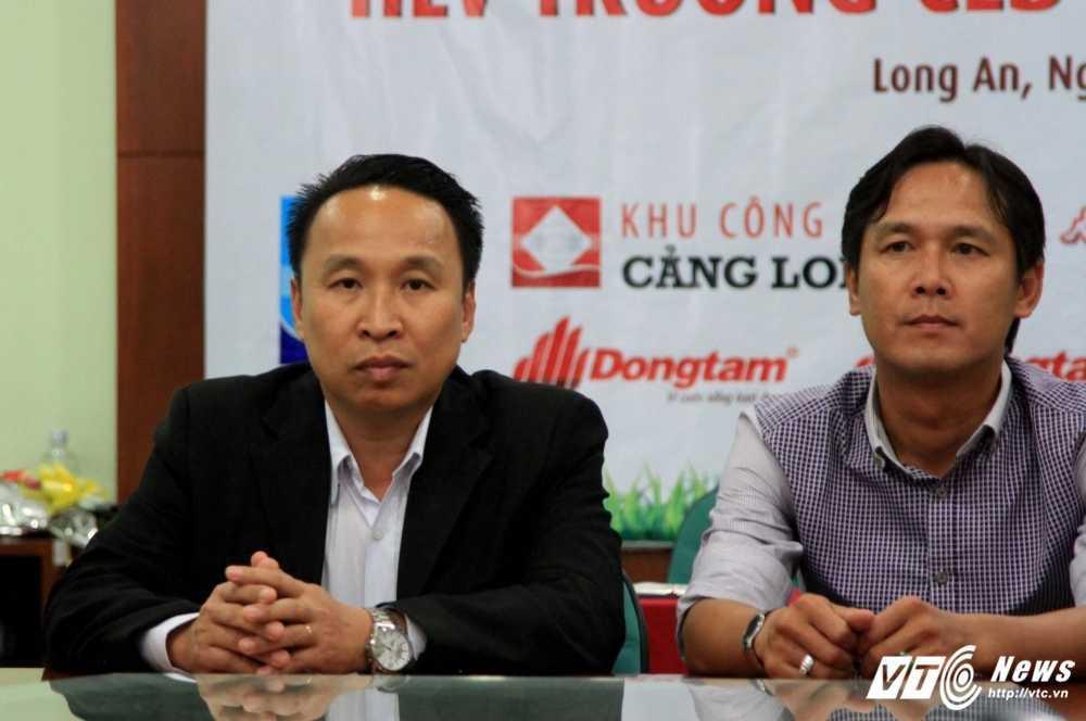 Quyen chu tich CLB Long An Nguyen Mon: Quang Thanh, Minh Nhut 'on dinh tinh than' roi tinh tiep hinh anh 2